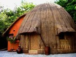 Swaziland Accommodation - Modernized Traditional Hut