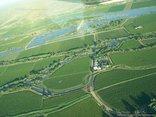 African Vineyard Guest House - Aerial View of Afican Vineyard