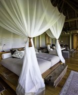 Botswana Visitor Information - Bedroom in premier safari camp