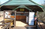 Mantuma Camp - Mkuze Game Reserve - 4-Bed Safari Tent Kitchen