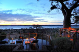 Ngoma Safari Lodge - Chobe National Park - Deck