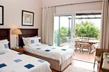 Manaar House - Luxury Self Catering Apartment Second Bedroom leading to Patio