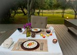 Bushwillow Collection - Lodge - Dinner on the main deck