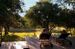 Bushwillow Collection - Lodge - Relaxing on the loungers on the main deck