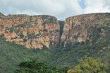 Safari Lodge - View of the Rustenburg Kloof