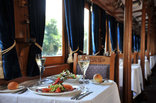 Safari Lodge - Fine dining at the Coach Restaurant