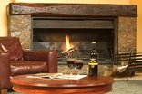 Hogsback Arminel Hotel - Communal fireplace