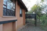 Hilltop Camp - Hluhluwe-Imfolozi Game Park - Back of chalet - deck