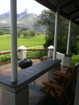 Arumvale Country House - Samantha Suite patio