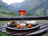 Forest Creek Lodge & Spa - Cocktails on the Veranda