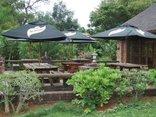Lukafrica Riverside Chalets - Main terrace