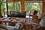 Sibuya Game Reserve - River Camp lodge interior