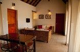 Mata Mata Restcamp - Kgalagadi Park - Riverfront Chalet - lounge