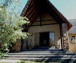 Shikwari Game Reserve - Shikwari Lodge entrance.