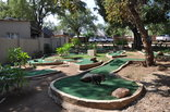 Sabie River Bush Lodge - The 9 hole putt putt course on site