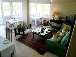 Hermanus Beach Villa - Lounge area and breakfast room