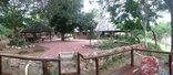 Nyala Safari Lodge - from deck to lodge