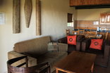 Lekoa Lodge - Double chalet open plan area