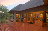 Raptor Retreat Game Lodge - Main Lodge Deck Area