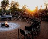 Baobab Ridge Greater Kruger - Boma at sunset