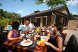 Marlin Lodge St Lucia - Al Fresco Breakfast