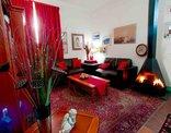 Athenian Villa - Fire place