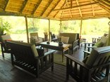 Shindzela Tented Camp - lounge area