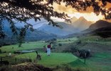 Cathedral Peak Hotel - 9 hole golf course, with alternate tees for 18 hole game