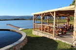 Langdam in Koo Cottages - Lapa with swimming pool and dam