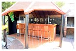 African Moon Corporate Guest House - Honesty Bar/ Pool Area