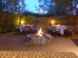 Masodini  Game Lodge - Dinner around the campfire