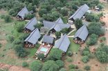 Buffalo Thorn Lodge - Aerial view of the lodge