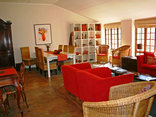 Madi a Thavha Mountain Lodge - Lounge in the main house at Madi a Thavha Mountain Lodge