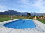 Raptor Rise - cottage pool