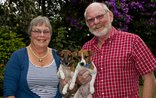 Jean-Lee B&B - Your Hosts with the ever energetic Jack Russels