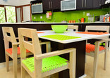 Bushwillow Collection - Boutique - Green Monkey Orange - Kitchen