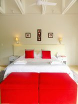Bushwillow Collection - Boutique - Red Ivory (King)