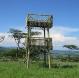Ukuthula Lodge - Game Viewing Tower at Ukuthula