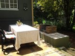 Sabie Self Catering Apartments - Apartment D - Braai area
