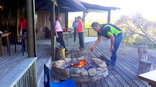 Oyster Bay Lodge - Boma braai