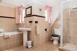 Lindisfarne B&B - Room 2 bathroom