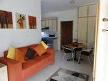 Chala-Kigi Self Catering - Garden Apartment Lounge kitchen Area.