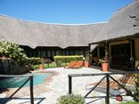 Elephants Footprint Lodge - The terrasse