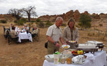 Tuli Safari Lodge - Tuli Safari Lodge Bush Breakfast