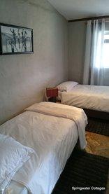 Springwater Cottages  - Second bedroom in Shebang