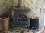 Drakensberg House - Woodburner