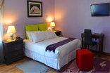 Sisero Accommodation - Pinelands - LUXURIOUS PURPLE ROOM