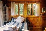 Kurisa Moya Nature Lodge - The Forest Lodge Cabin interior