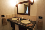 Tranquil Nest - 2 bedroom Chalet Main Bedroom Bathroom