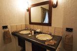 Tranquil Nest - 2 bedroom Chalet Main Bedroom Bathroom